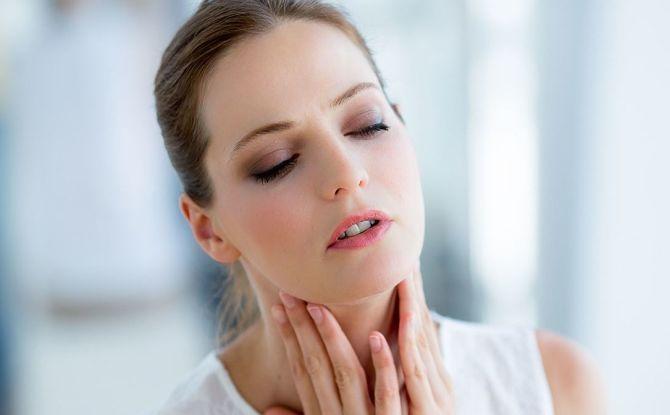 Inflammation des ganglions lymphatiques sous-mandibulaires: causes, symptômes, méthodes de traitement