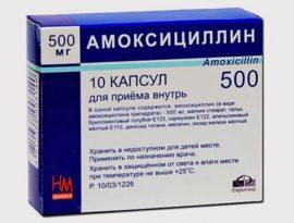 Amoxicilline antibiotique
