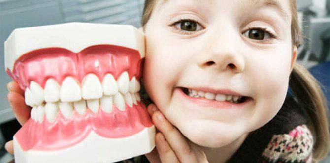 Combien de dents de bébé devraient être chez les enfants..